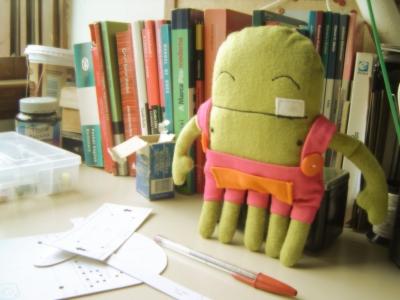 Daluli boneco para PAP/DIY (2008)