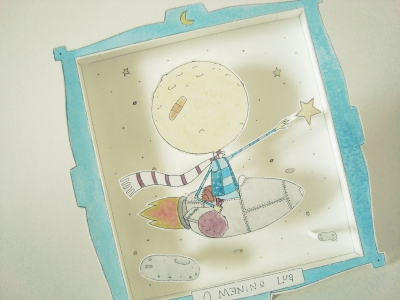Papertoy O menino Lua (2013)