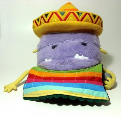 Boneco Monstro Mexicano para Agência Alma Branding (2014)