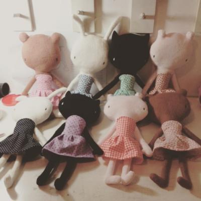 Bonecos mimolee, primeira geração (2015)