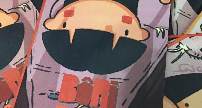 Capa 2019 do mini-livro Bôri-Pôpo