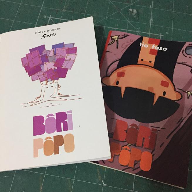 Edição original (2010) à esquerda e a nova (2019) à direita